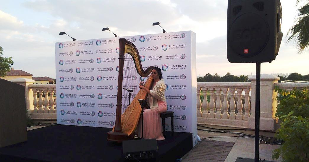 2ID - HARPIST FOR THE CORPORATE MEETING