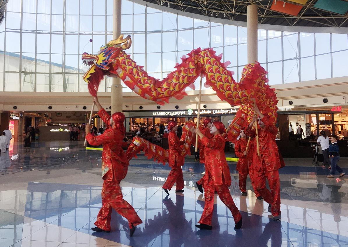 2ID - DRAGON DANCE FOR CHINESE NEW YEAR, RAS AL KHAIMAH