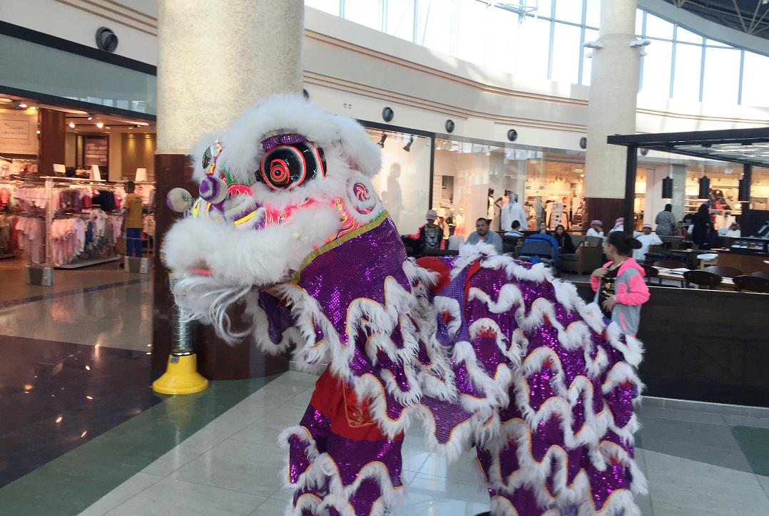 2ID - LION DANCE FOR CHINESE NEW YEAR, RAS AL KHAIMAH