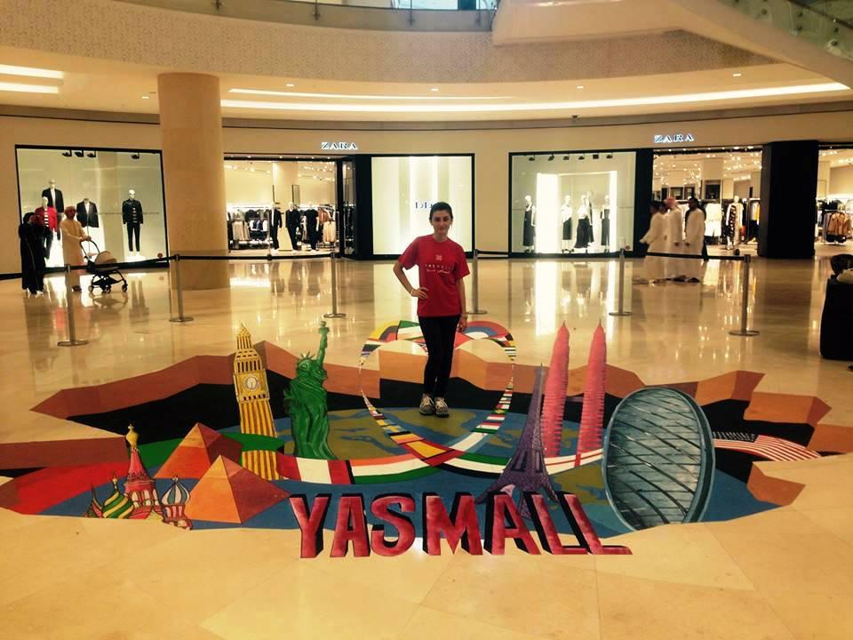 3D art for mall activities