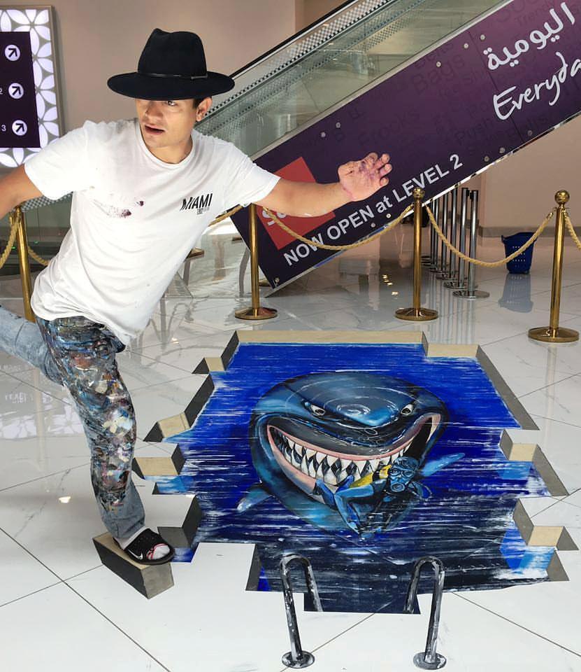 3D art for festivals