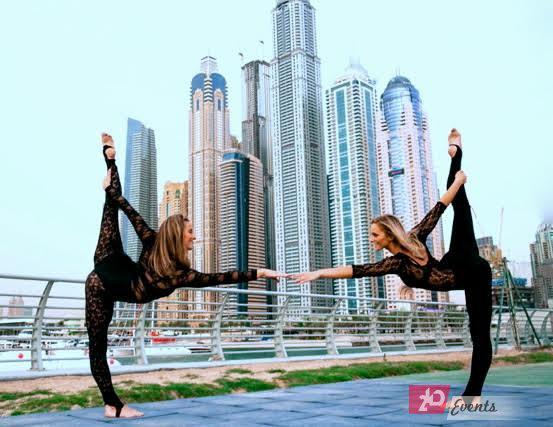 Acrobalance & aerial duo for gala events