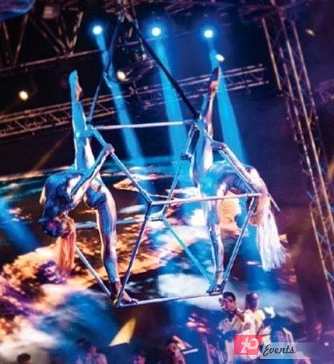 Acrobalance & aerial duo for award ceremonies