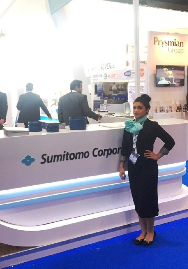 Arabic-speaking hostess for product launches