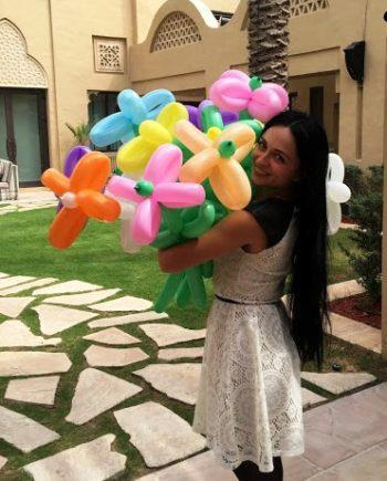Balloon twister in Dubai