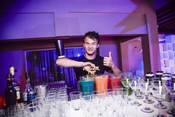 Bartender show for product launches