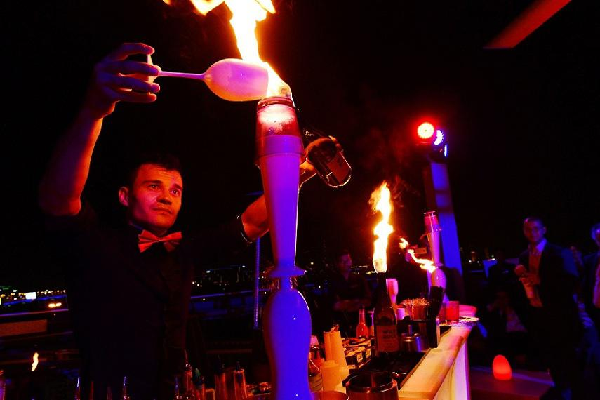Bartender show for private parties