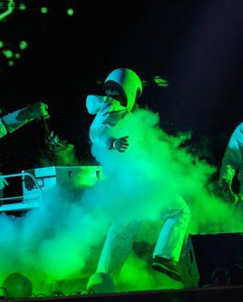 Chemical show - cryo effect in Dubai