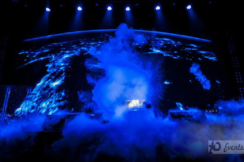 Chemical show – cryo effect for public events