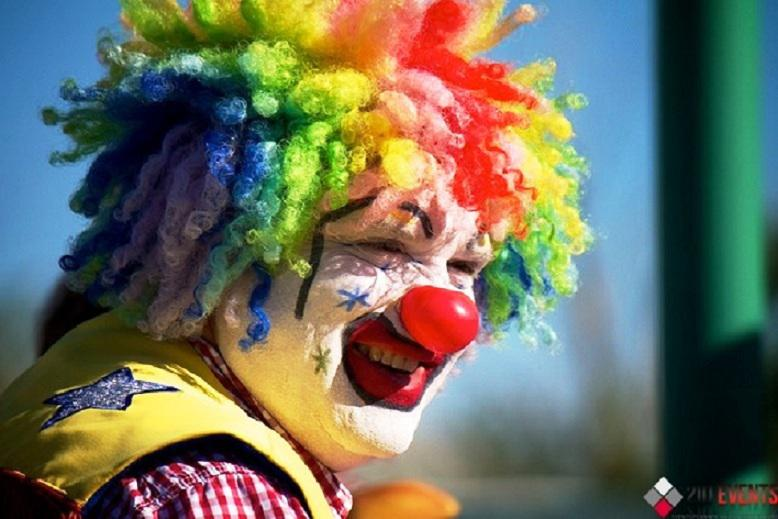 Clown for carnivals