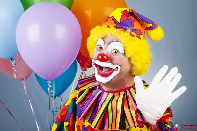 Clown for festivals
