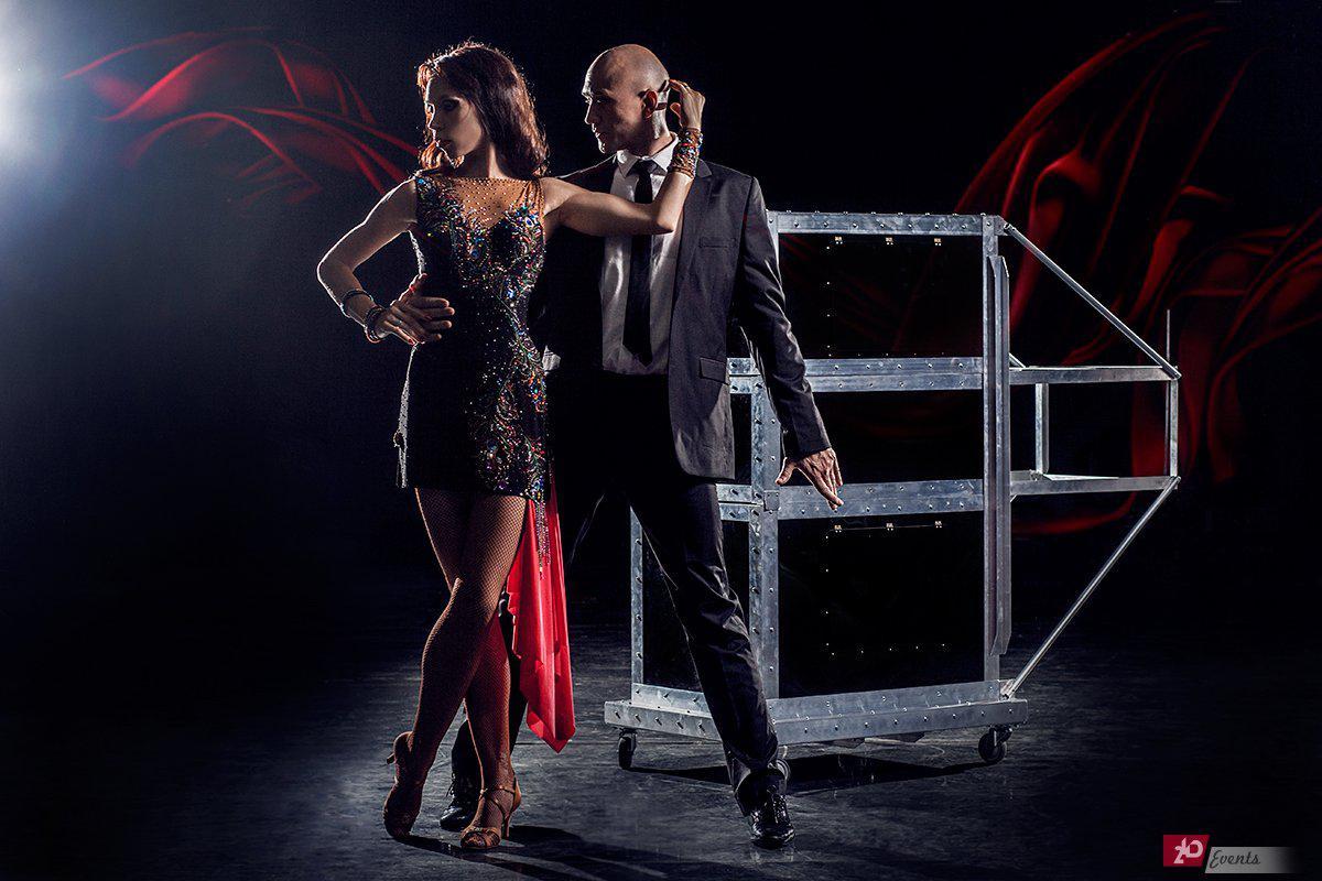 Dancing illusion show for anniversaries