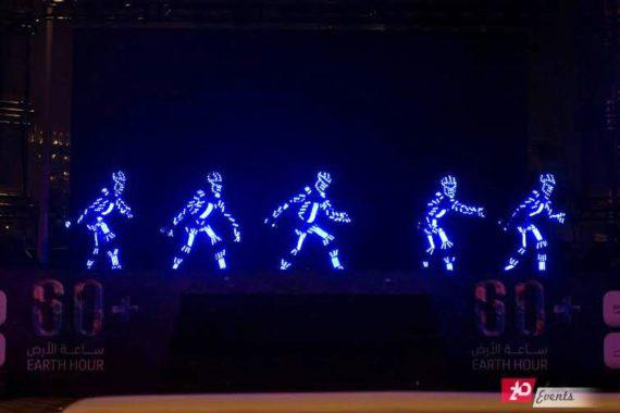 EL Wire Show for corporate events