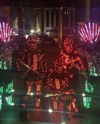 EL Wire Show in Dubai