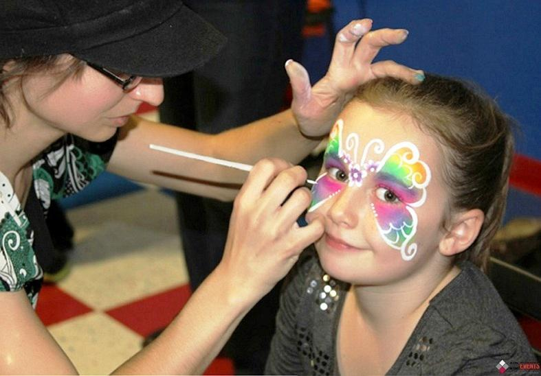 Face painting for festivals