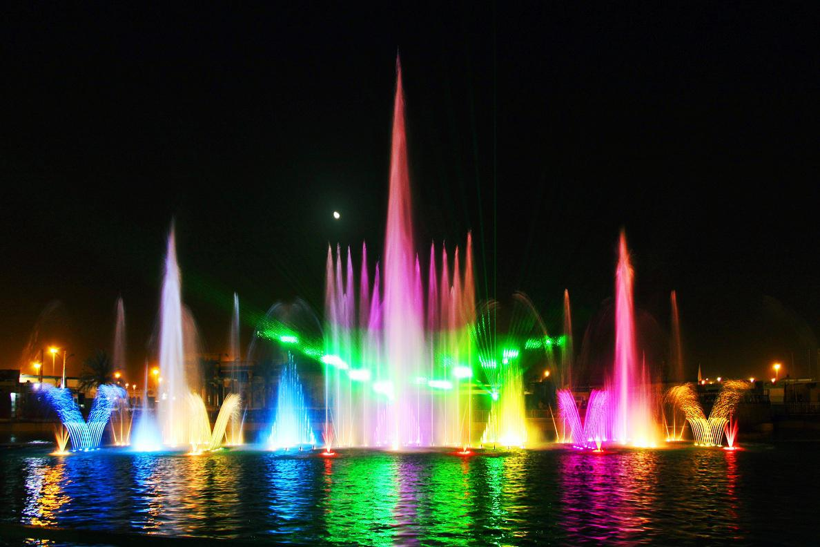 Fountain show for special events