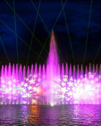 Fountain show in Dubai