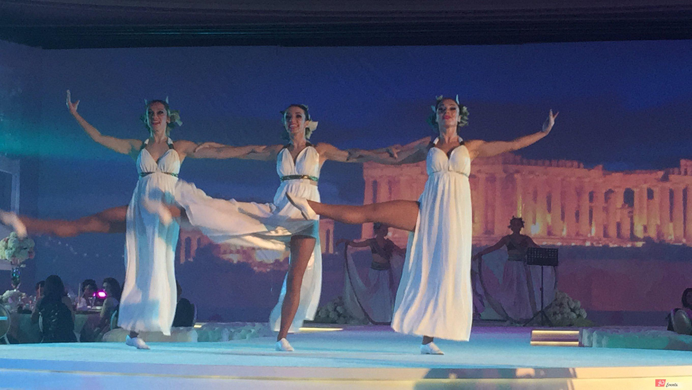 Greek dancers for corporate events