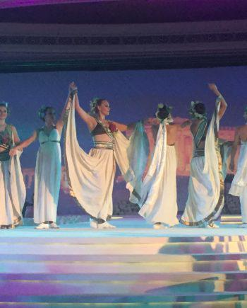 Greek dancers in Dubai