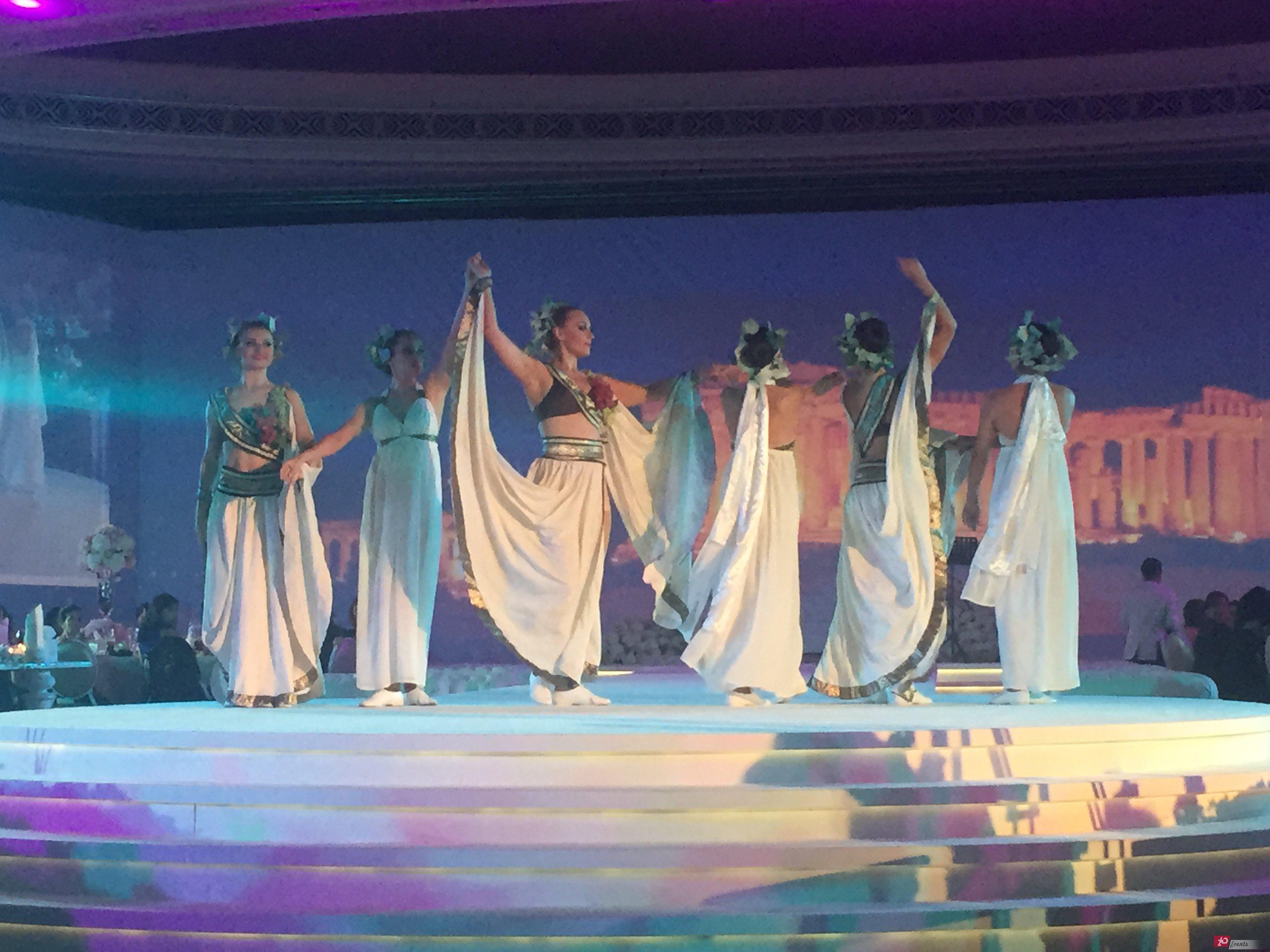 Greek dancers for gala dinners