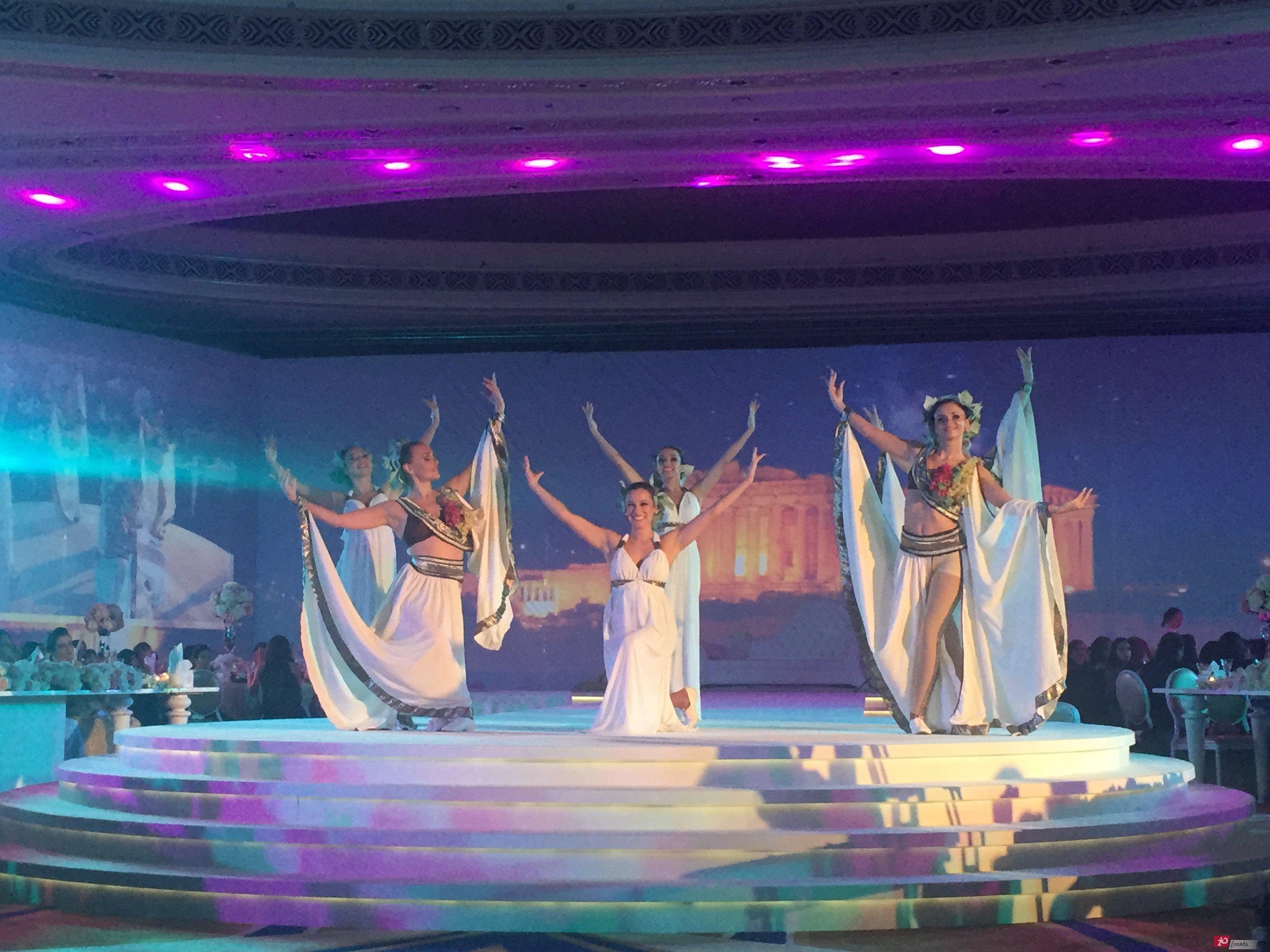 Greek dancers for festivals
