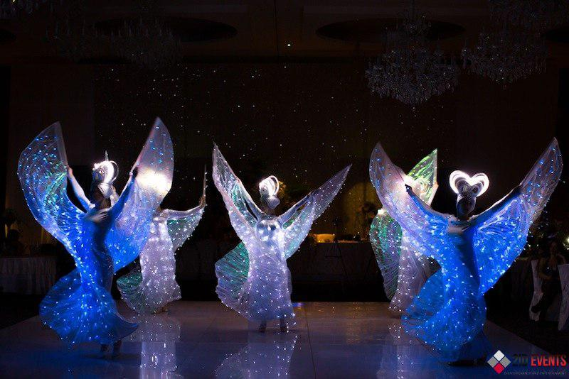 LED dance for public events
