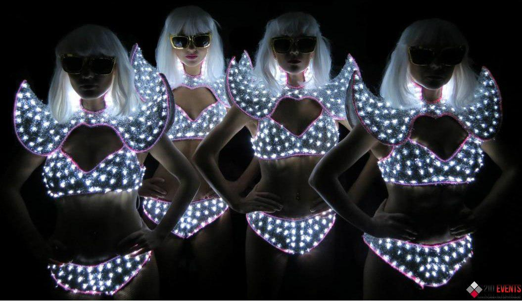 LED dance for night clubs parties
