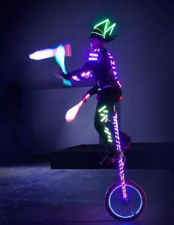 LED juggler for promotions
