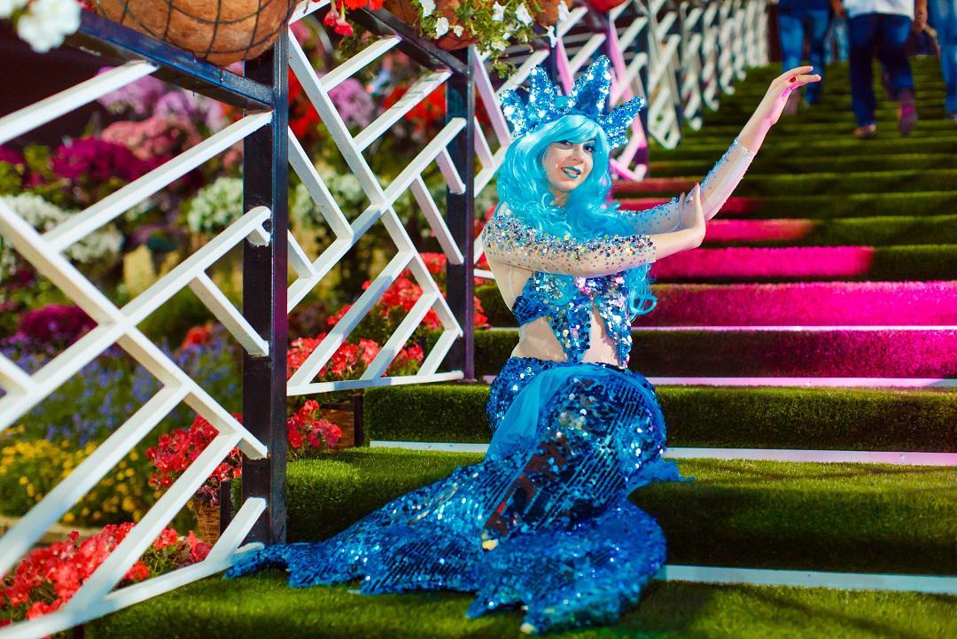 Mermaids for festivals