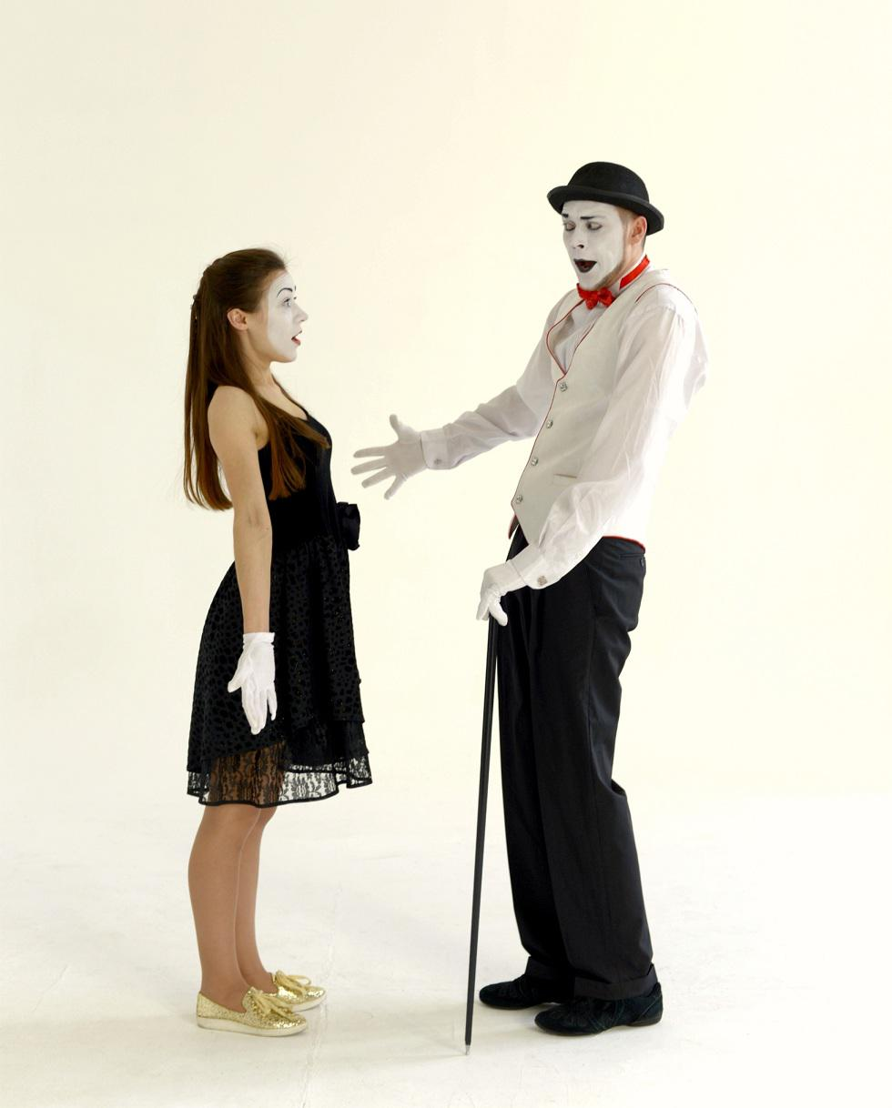 Mime group for themed occasions