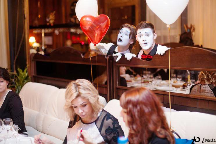 Mime group for gala dinners