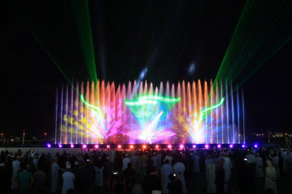 Multimedia show for conserts