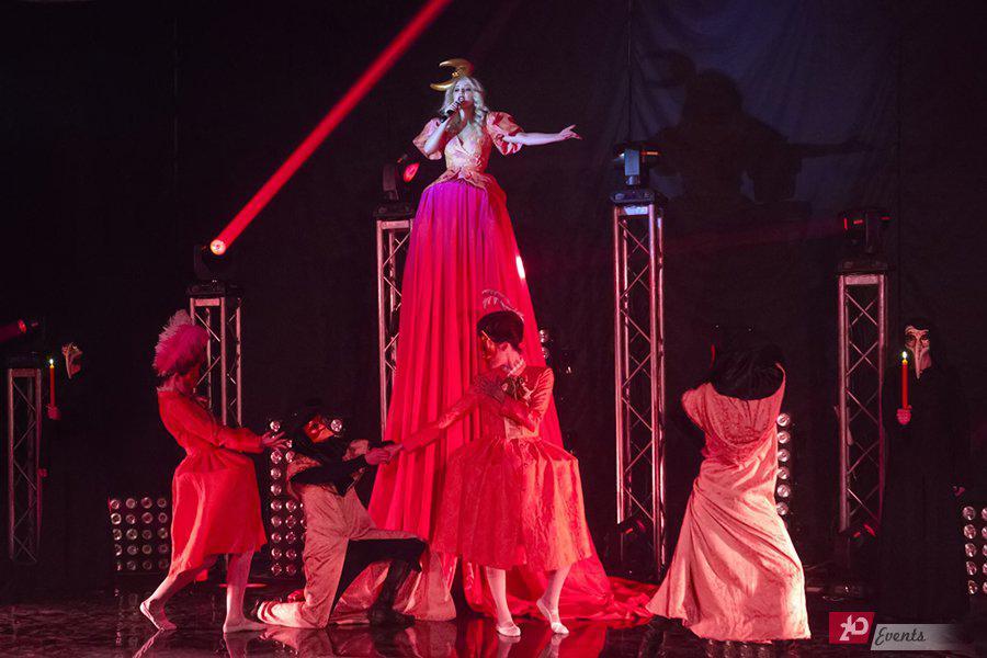 Opera show for ceremonies
