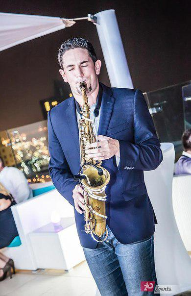 Saxophonist for birthday parties