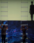 Shadow show with video projection Dubai