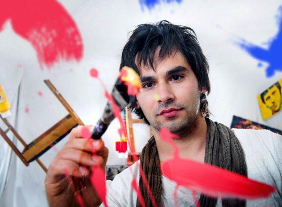 Speed painter for festivals