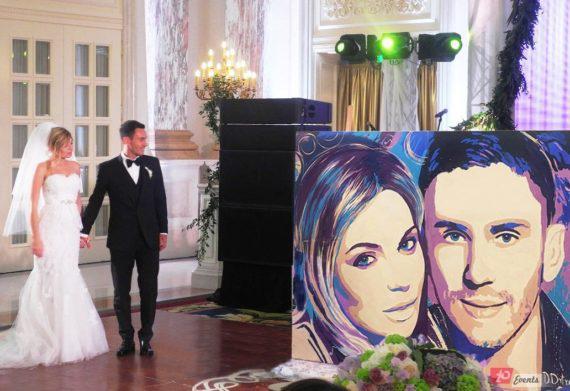Speed painter for weddings