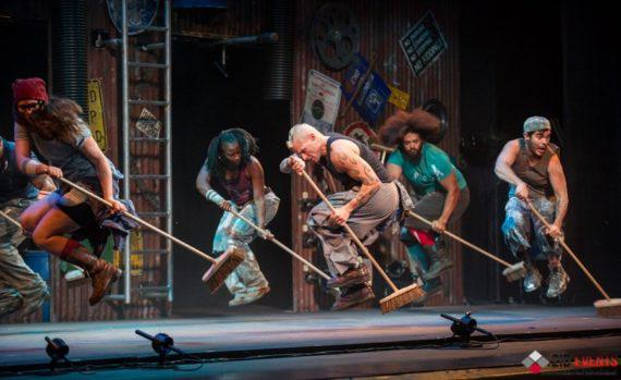 Stomp dance for street events