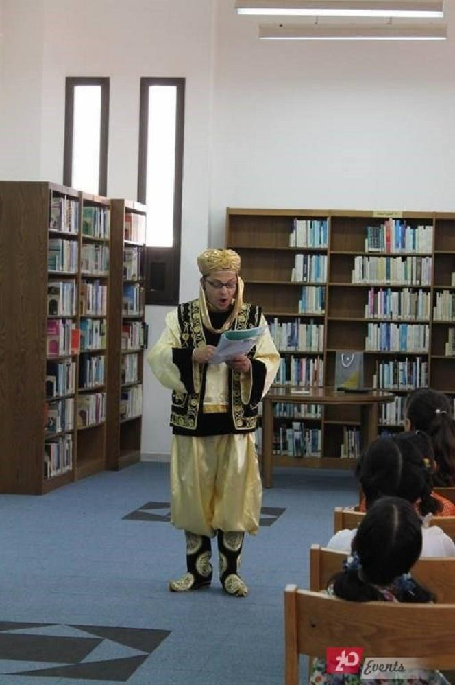 Story teller for special events