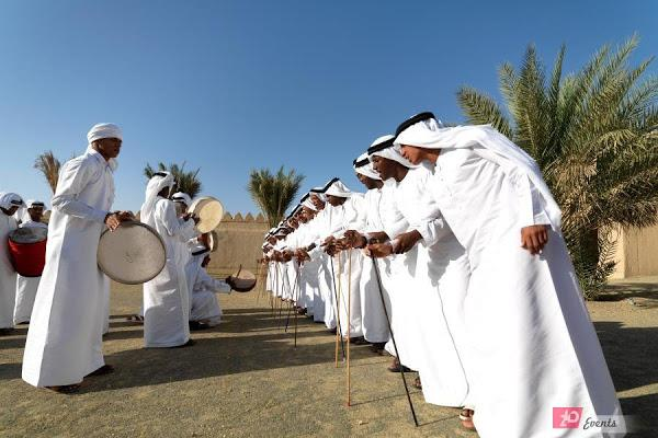 Ayallah dancers for National Day