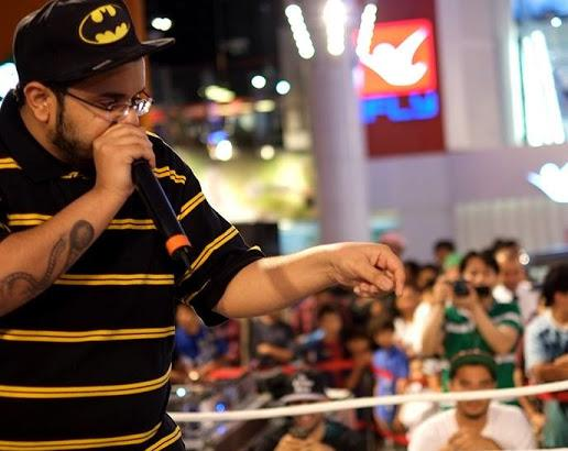 Beatbox artist for mall activity