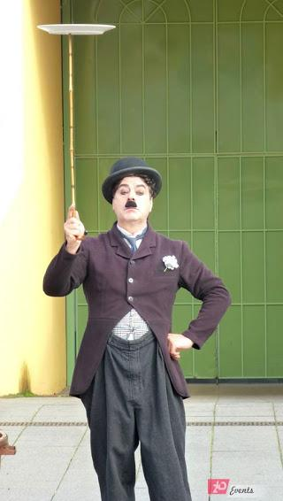 Charlie Chaplin show for corporate event