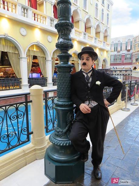 Charlie Chaplin show for private events