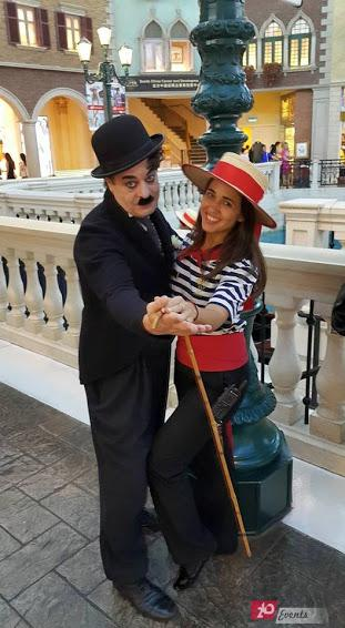 Charlie Chaplin show for special parties
