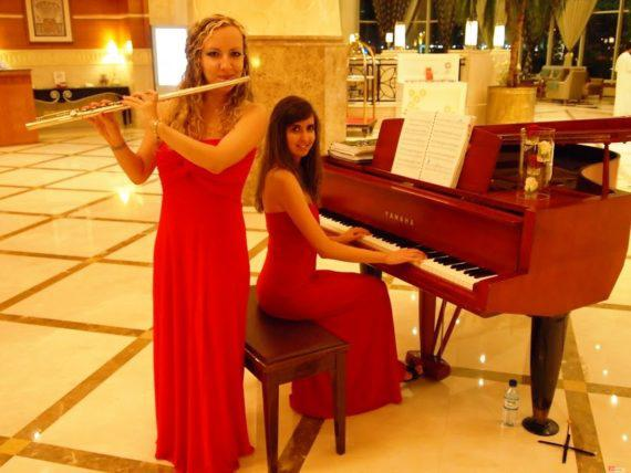 Classical duo for private events