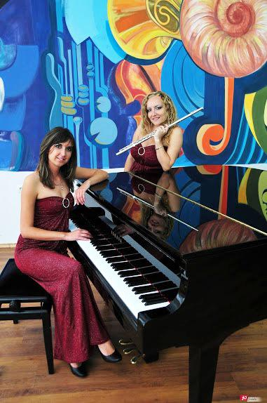 Classical duo for gala dinners