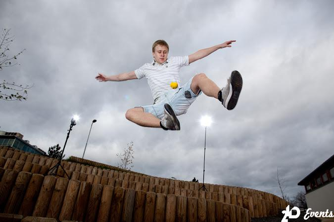 Footbag freestyle for sport occasions