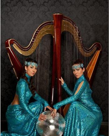 Harp duo in Dubai