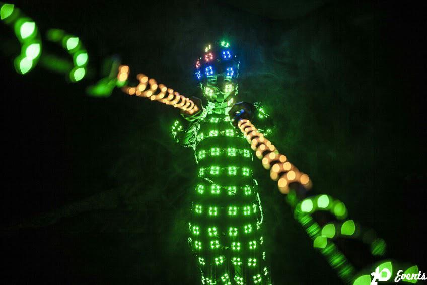 LED TETRIS SHOW IN THE UAE-2