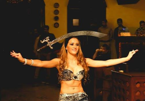 Belly dancer Marella for private events